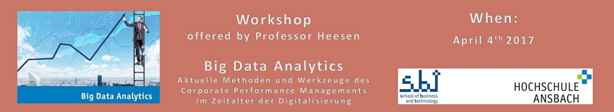 Workshop: Big Data Analytics