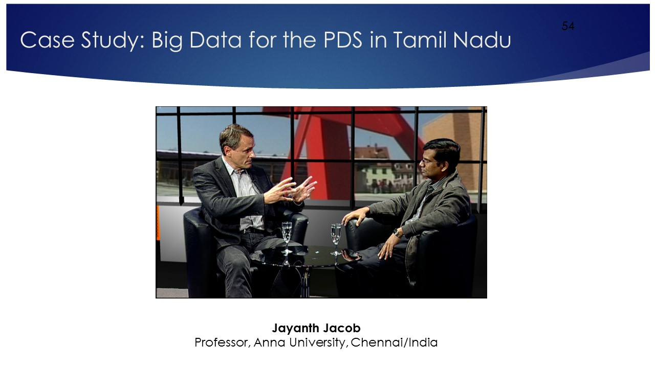 MOOC Digital Disruption: Lecture 11 Tamil Nadu